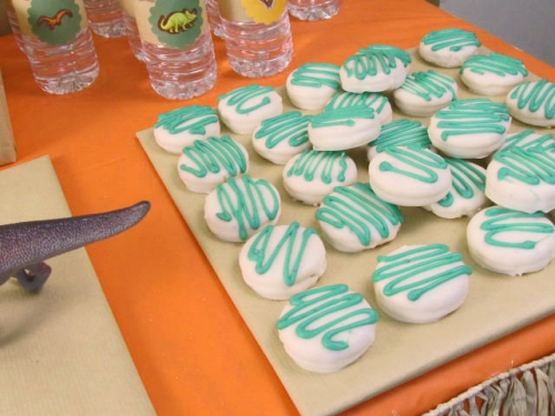 Candy Dipped Cookies