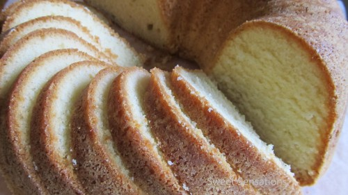 buttermilk lb cake two