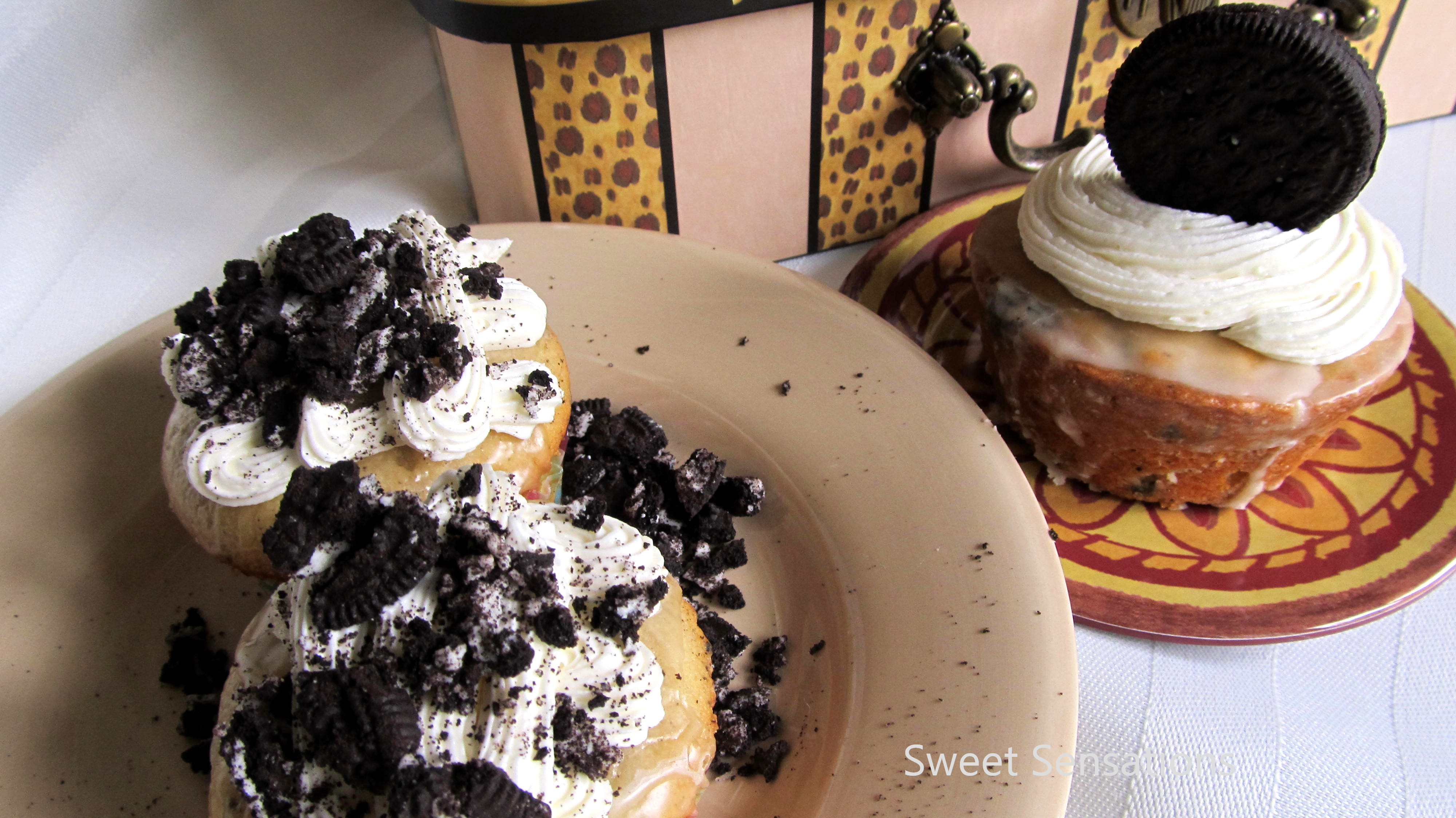 Oreo Cream Cheese Pound Cake Cupcakes Sweet Sensations