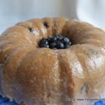Blueberry White Chocolate Pound Cake