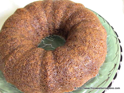 Browned Butter Pound Cake - Sweet Sensations