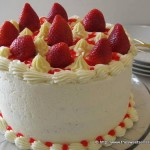 Strawberry Cheesecake Layer Cake
