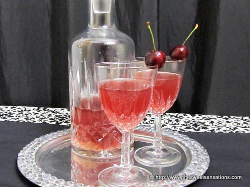Cherry Marshmallow Infused Vodka - Sweet Sensations