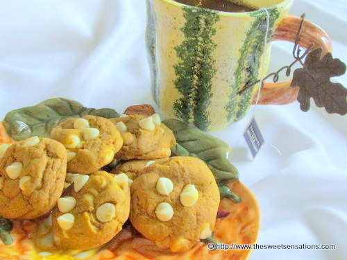 pumpkin cookies 3