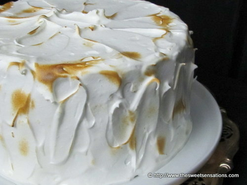 lemon curd meringue cake 2