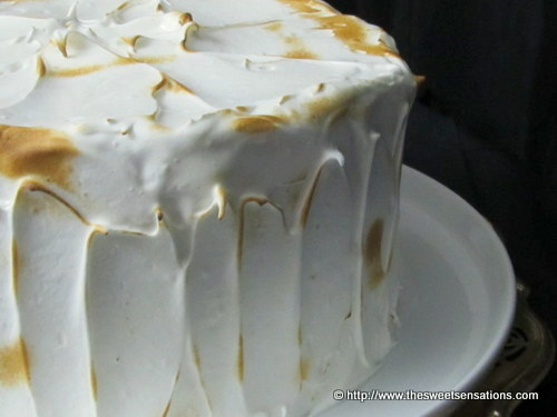 lemon curd meringue cake 4