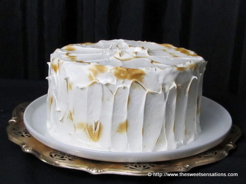 lemon curd meringue cake 7