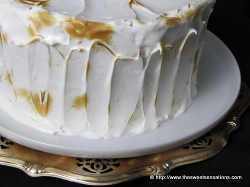lemon curd meringue cake 8