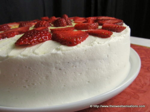 strawberry cheesecake cake 9