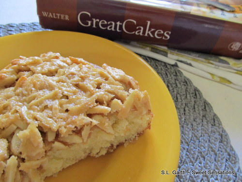 glazed almond butter cake 9