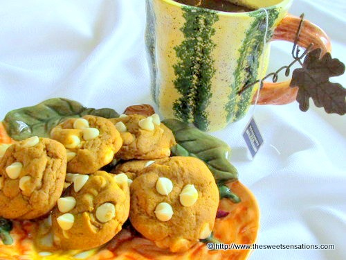 pumpkin cookies 33