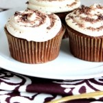 Chocolate Velvet Cupcakes ~ Cake Slice Bakers