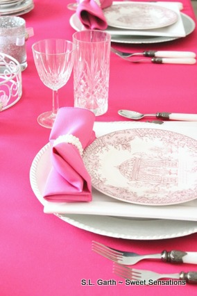 shade of pink table 8