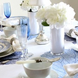 blue table 15