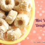 Mini Baked Doughnuts with Vanilla Glaze