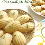 Lemon~Rosemary Cornmeal Madeleines