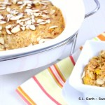 Baked Oatmeal with Golden Girl Granola