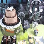 Haunted Graveyard Dessert Table How To