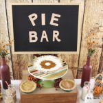 Thanksgiving Pie Bar with Marie Callender's