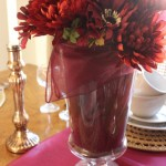 Wine Hued Tablescape