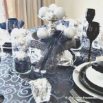 New Year's Eve Tablescape and Menu