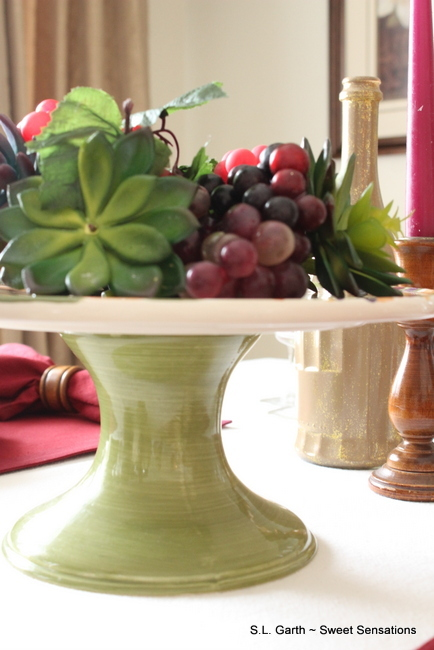 An Italian meal plan and an Italian inspired tablescape create the perfect ambiance.