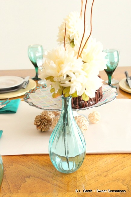 An edible centerpiece is a delicious option for your table.