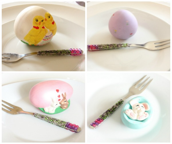 Painted Eggs Collage - Copy