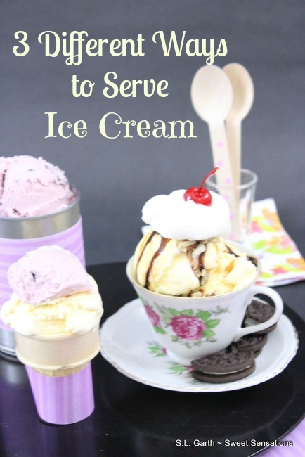 3 Different Ways to Serve Ice Cream 8