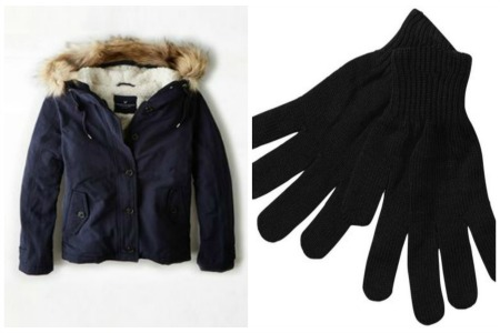 Coat glove Collage