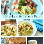 Manly Meal and Tablescape Ideas for Father's Day