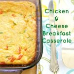 Chicken and Cheese Breakfast Casserole