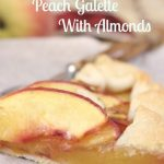 Peach Galette with Almonds