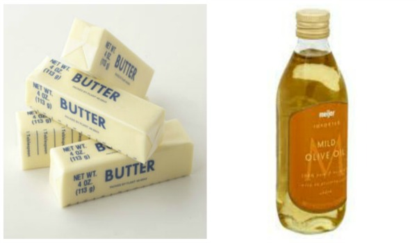 When you substitute oil for butter in your cakes they tend to stay moist longer.