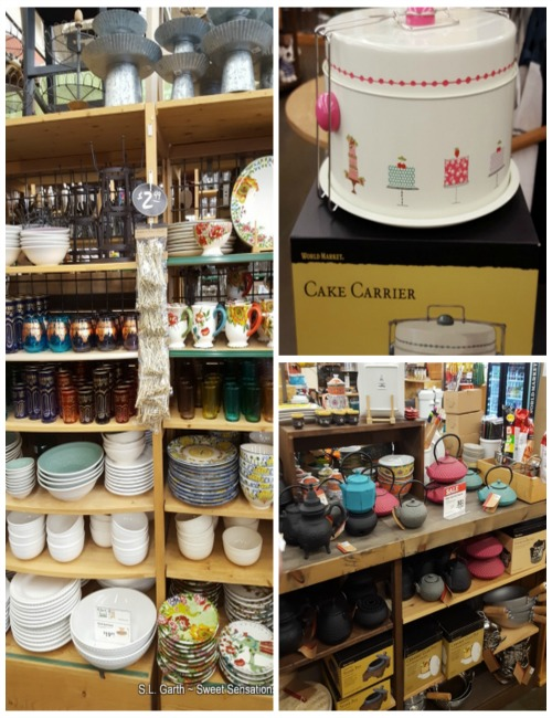 Shopping and Cooking in Atlanta-World Mkt Collage