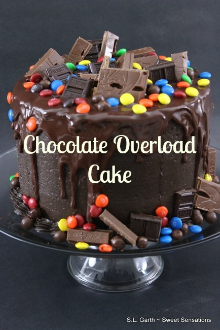 The Chocolate Overload Cake was the standout in this down home birthday celebration.