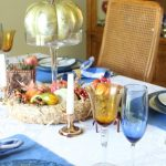 Contemporary Fall Tablescape