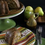 Caramel Glazed Pear Cake