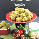 Pistachio Crusted Chocolate Cake Truffles