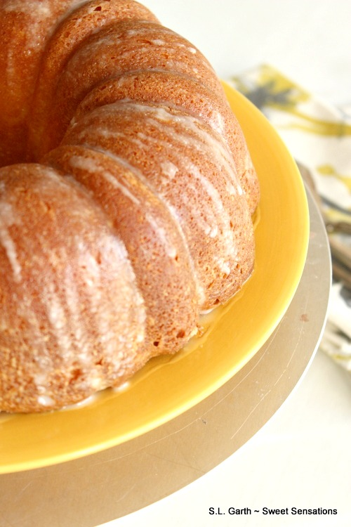 Believe it or not, this Meyer Lemon Buttermilk Bundt Cake can be part of a healthier eating plan.
