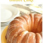 Meyer Lemon Buttermilk Bundt Cake