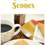 Apricot Ginger Scones
