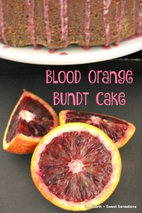 Add some and citrus to your day with a Blood Orange Bundt Cake.